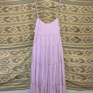 Maxi lavender UO strappy dress